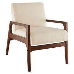 $218 30 H x 22 W x 31.25 D Target Windson Wood Arm Chair - Threshold NATURAL