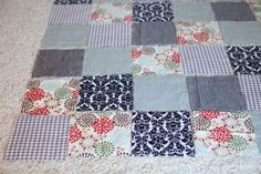 DIY: Rag Quilt » Hope Helms | Blog