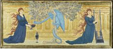 The Garden of the Hesperides | Burne-Jones | V&A