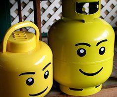 Lego Head Propane Tanks BUY IT HERE