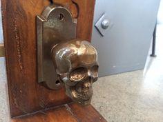 Faucetto - Metal Skull Door Knobs