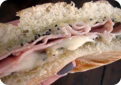 Ham & Swiss Poppyseed Sandwich Sliders Recipe/Six Sisters' Stuff | Six Sisters' Stuff
