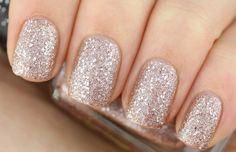 Swatch: Barry M – Duchess (Textured Glitter)
