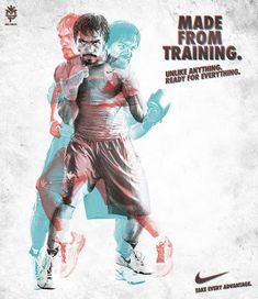 Sports design Nike's new Manny Pacquiao men's shirts