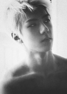Find images and videos about kpop, sexy and exo on We Heart It - the app to get lost in what you love. Sehun, Exo K, Park Chanyeol, K Pop, Kpop Love, My Moon And Stars, Pokerface, Hunhan, Wattpad
