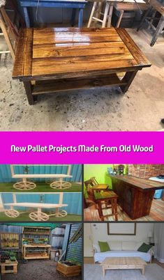 Here come the new pallet projects made from old wood which are amazingly adorable. These new pallet projects aimto boost the elegance of your home. Trendy Furniture, Sofa Furniture, Pallet Furniture, Furniture Ideas, Pallet Wall Decor, Pallet Bench, Old Wood, Quality Time, Pallet Projects