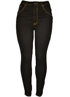 143Fashion Ladies Fashion Stretch Jeans w/ Back Pockets (1, Black) 143Fashion http://www.amazon.com/dp/B00NFV2TP0/ref=cm_sw_r_pi_dp_ThfCub0FK3SBJ