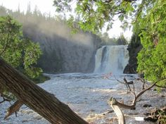 High Falls at Tettegouche State Park - Beautiful places. Best places in the world. Shut up and take me there! Best Places To Travel, Places To Go, High Falls, Camping Activities, Tent Camping, Places Around The World, Beautiful Landscapes, State Parks, Beautiful Places