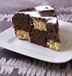 Gâteau d'anniversaire damier, la recette d'Ôdélices : retrouvez les ingrédients, la préparation, des recettes similaires et des photos qui donnent envie !