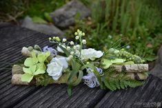 Tischdeko Hochzeit Ehrenplatz Deko Rosen Foamrosen Taufe Kommunion rot weiss in  blumendeko