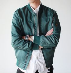 Fall Winter Men's Fashion Bomber Jacket