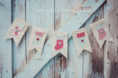 making this simple bunting