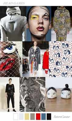 TRENDS // PATTERN CURATOR - HEAD GAMES . FW 2018