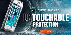 LifeProof nüüd cases for i-things. http://www.lifeproof.com/shop/us_en/nuud-iphone-5-case/