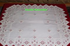 White on white Hardanger 26-1/4 inches square - stitchin fingers