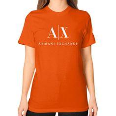 Armani Exchange Unisex T-Shirt (on woman)