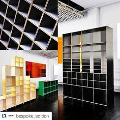 """Exposition du système de rangement """"1000 Raisons"""" à l'atelier Jean Nouvel Design. #Design #Mobilier #Bibliothèque #maisonetobjet #parisdesignweek #architecture #meuble #art #PDW15 #TEAM14SPIN #TEAM14SINS #team14stw"""