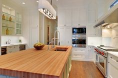 Warm Kitchen Colors With Style Faucet