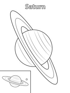 pla drawing how to draw saturn