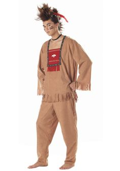 Add any of the great Native American costume accessories, such as an Indian tomahawk or peace pipe for an authentic men's Indian costume at your next Halloween party. Description from indiancostumes.com. I searched for this on bing.com/images