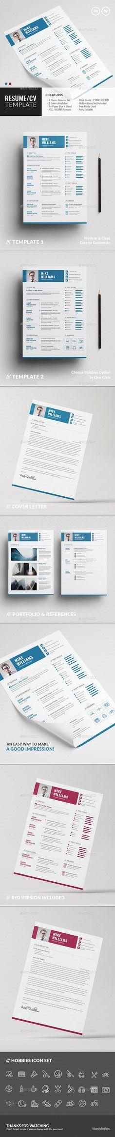 The CV 1552 best Resume Design images
