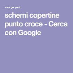 schemi copertine punto croce - Cerca con Google