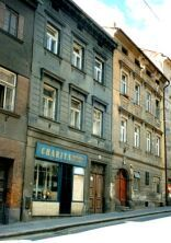 The Mahler houses at Znaimergasse 4 and 6 in Iglau