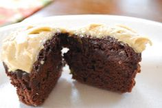 """""""Point-less"""" Meals: Chocolate Zucchini Cupcakes"""