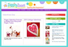"""This is an image from this resource on the Internet4Classrooms' """"Activities for Valentines Day at Internet 4 Classrooms"""" resource page:    Ziggity Zoom's Valentine's Day Resources.    This site includes some very creative projects. Try making the alien cards or the lovebugs!"""