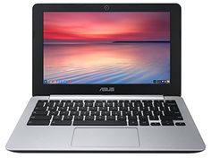 Asus C200 Chromebook 11.6 Inch (Intel Celeron, 2 Gb, 16Gb Ssd, Black/Silver), 2015 Amazon Top Rated Laptops #PersonalComputer