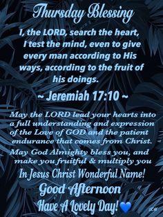Thursday Prayer, Thursday Quotes, Thankful Thursday, Happy Thursday Morning, Thirsty Thursday, Good Morning Wishes, Thursday Greetings, Abide In Christ, Evening Greetings