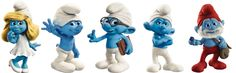 The Smurfs are the main group of characters that are central to the hit series of the same name. They live in a village hidden within a forest, the location of which is known only to the Smurfs. It is presumed that their nation of origin is Belgium, where they are known by their French name Schtroumpfs, as documented by Peyo in the 20th century. List of smurfs (but not all of them): Papa Smurf, Brainy Smurf, Smurfette, Clumsy Smurf, Grouchy Smurf, Vanity Smurf, Hefty Smurf, Handy Smurf... Blue Costumes, Halloween Costumes, Smurf Costume, French Names, Smurfette, Belgium, Smurfs, Islam, The Originals