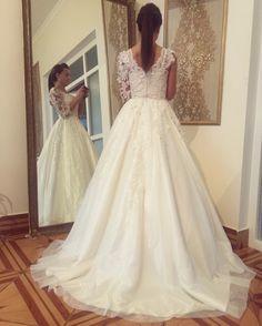 ❤️ Lace Wedding, Wedding Dresses, Fashion, Bride Gowns, Wedding Gowns, Moda, La Mode, Weding Dresses, Wedding Dress