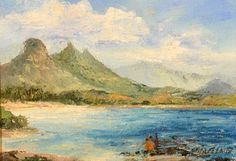 Waimanalo Shores | by  Betty Hay Freeland #BettyHayFreeland #oil #cedarstreetgalleries