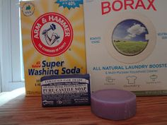 a greener mama: Homemade Powdered Laundry Detergent