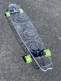 Swirl Ghost Board – Ghost Long Board Platypus, Big Boys, Shark, Purple, Blue, Yellow, Red, Duck Billed Platypus, Sharks