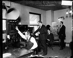Radio Control room 1925