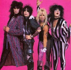Mötley Crüe - 1985