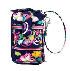 Vera Bradley Carry It All Wristlet in Ribbons