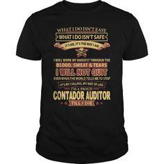 Cool  CONTADOR-AUDITOR T-Shirts #tee #tshirt #Job #ZodiacTshirt #Profession #Career #auditor
