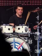 My favourite drummer in the world, Chris Crippin, from the famous band, Hedley