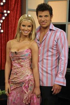 Jessica Simpson and Nick Lachey.