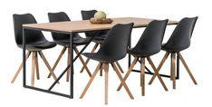 Odense & Concept Oak ruokaryhmä 1+6 / Ruokailuryhmät / Ruokailutilan kalusteet / Tuotteet / Masku.com Odense, Dining Chairs, Table, Furniture, Home Decor, Decoration Home, Room Decor, Dining Chair, Tables