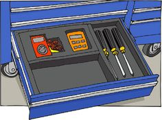 tool chest drawer dividers