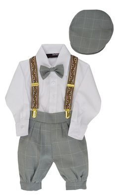 Boys Vintage Knickers Outfit Suspenders Months Silver -- Details can be found by clicking on the image. Vintage Outfits, 1920s Outfits, Vintage Fashion, Vintage Style, Fashion 1920s, Vintage Wardrobe, Baby Costumes For Boys, Boy Costumes, Costume Ideas