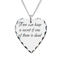 Pin for Later: A Gift Guide For the Pretty Little Liar in Your Life  Necklace ($20)