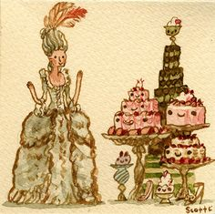 Marie Antoinette-Scott C #illustration