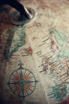 to travel... We had this same globe growing up and I used to spin and spin it and imagine all the places I'd go.