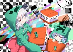 Minecraft- Creeper anime girls