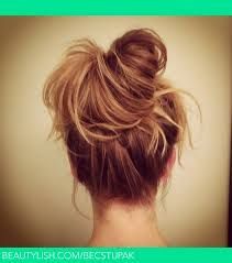 Image result for how to make a simple hairstyle for college